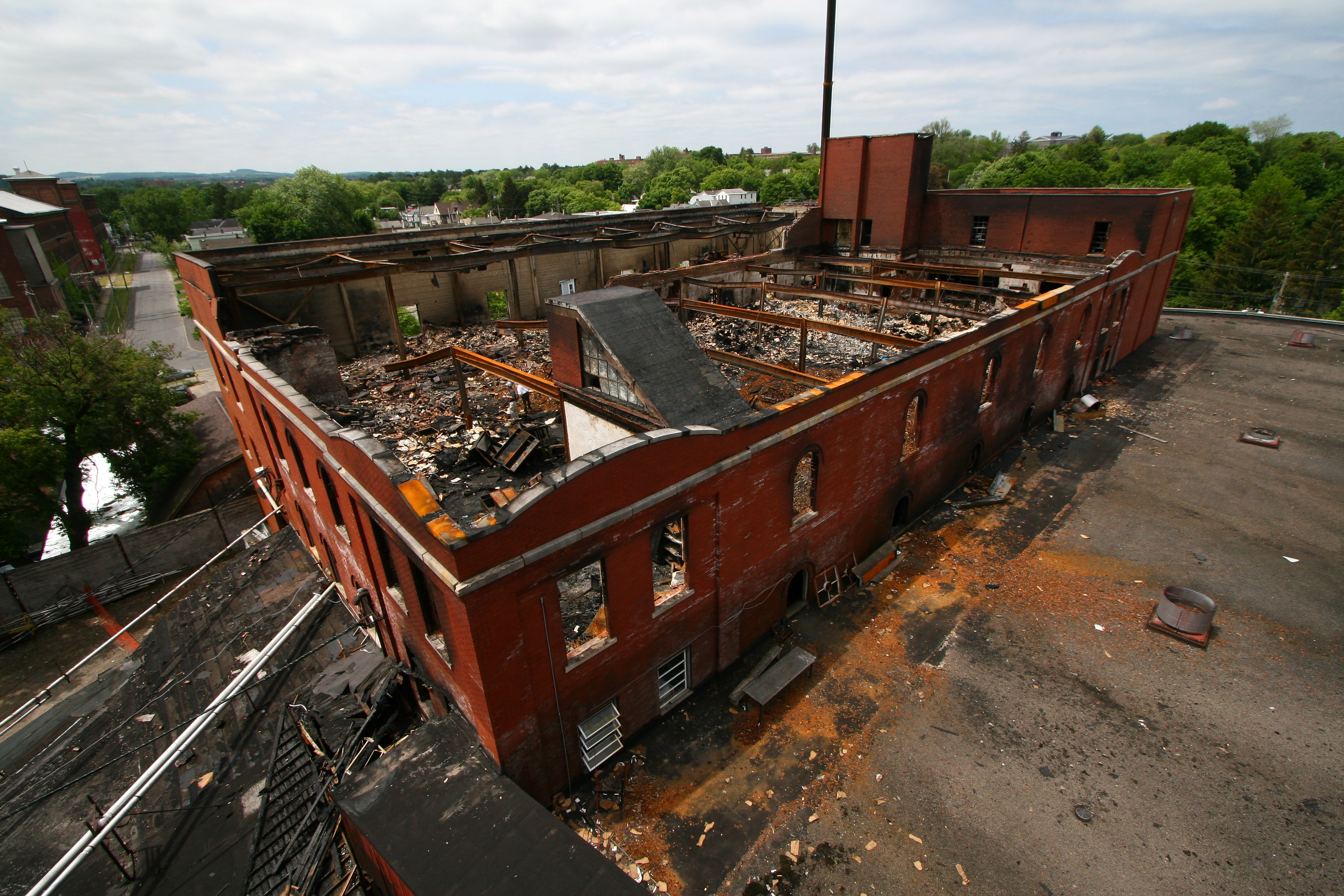 Commercial Property Business Fire Damage Goodman-Gable-Gould/Adjusters International