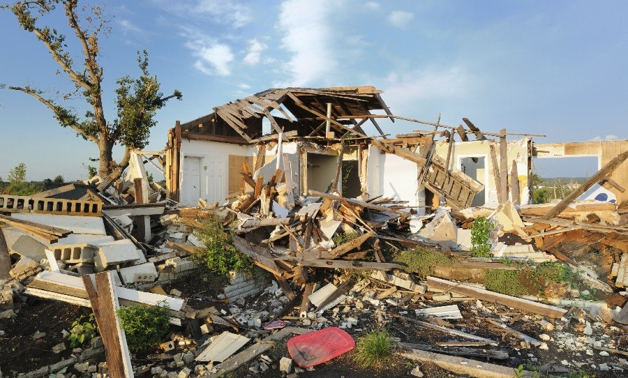 Windstorm Tornado Damage Homeowner Residential Insurance Claim Goodman-Gable-Gould/Adjusters International